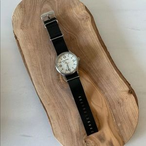 New Rumba Men Watch w Leather Band